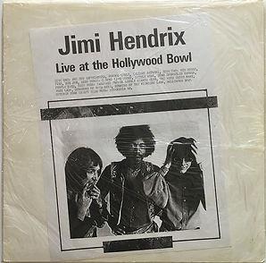 jimi hendrix bootlegs vinyls/at the hollywood bowl