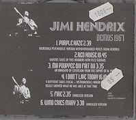 1967 collector jimi hendrix