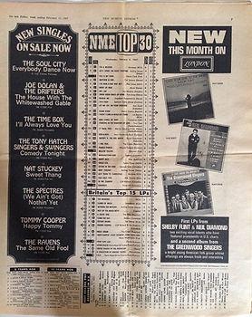jimi hendrix newspaper 1967 /  new musical express feb.11, 1967