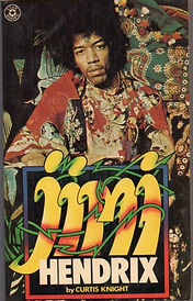 jimi hendrix book / jimi by curtis knight/star book london 1975