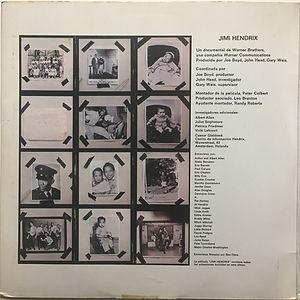 jimi hendrix vinyl album/jimi hendrix banda sonora original de la pelicula