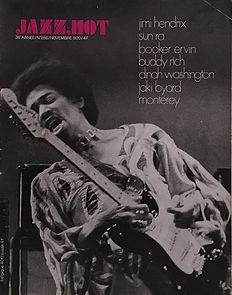 jazz hot jimi hendrix collector /jazz hot   Nov. 1970  / experience en suspens...