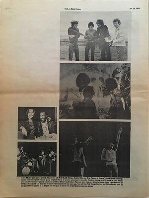 jimi hendrix newspapers 1970 /rock : jan.19, 1970