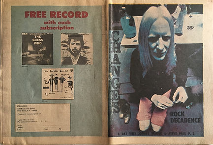 jimi hendrix newspapers 1970 / changes november 15,  1970