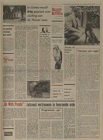 jimi hendrix newspapers 1970 / nieuwsblad van het noorden : may 30,1970 review  lp band of gypsys