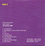 jimi hendix box cds/disc 5 / concert 7/1/68 copenhagen