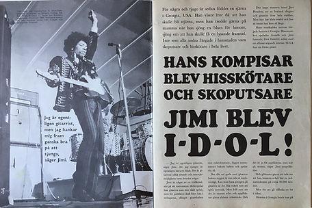 jimi hendrix magazine 1968/jimi hendrix /sewden