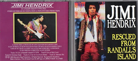 jimi hendrix bootlegs cd / rescued from randall's island /  2003