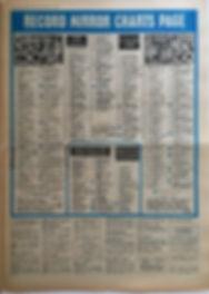 jimi hendrix newspaper/record mirror 5/10/68 top LPs : smash hits N°32