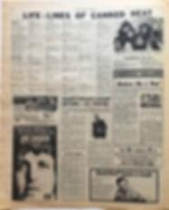 jimi hendrix newspaper/new musical express 28/9/1968