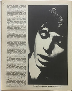 jimi hendrix magazine/rave may 68/ spain musica'68