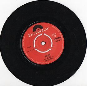jimi hendrix singles vinyls/freedom 1971