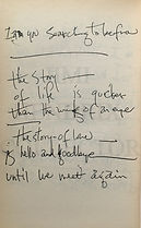 jimi hendrix memorabilia 1970 / last poem