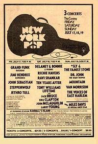 jimi hendrix newspapers 1970 /  1970  new york pop