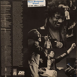 jimi hendrix collector vinyls albums lps/jimi hendrix experience historic performances atlantic records france 1970