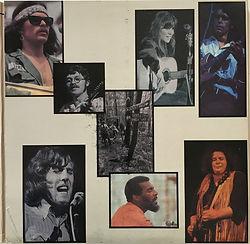 woodstock 3lps album vinyl/1991 jimi hendrix collector