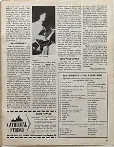 jimi hendrix magazine/beat instrumental : vital moments /june 1968