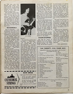 jimi hendrix magazine/beat instrumental : vital moments /june 1968