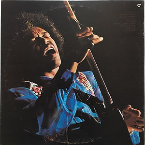 jimi hendrix album vinyl /in the west canada