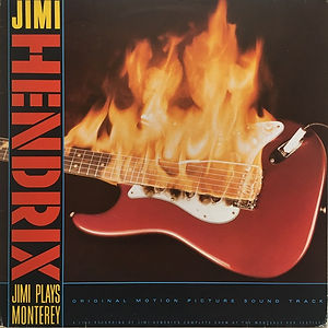 jimi hendrix vinyls collector/  jimi plays monterey   /  brazil