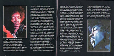 jimi hendrix collector cd / the jimi hendrix concerts 1989