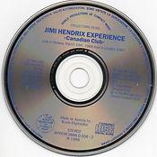 jimi hendrix bootlegs cd/canadian club
