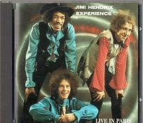 jimi hendrix bootlegs cds /live in paris /the swingin'pig 1989