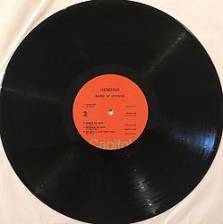 jimi hendrix vinyls lp/1975 band of gysys