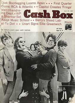 jimi hendrix  magazine 1967 / cash box april 67