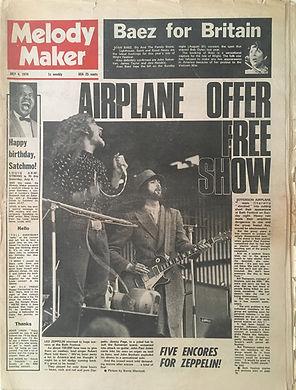 jimi hendrix newspapers 1970 / melody maker  july 4, 1970