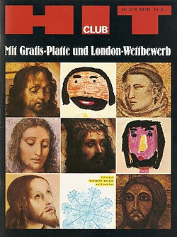 jimi hendrix collector magazines 1970/ hit club december 1970