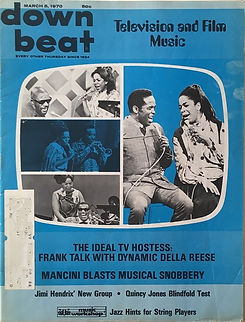 jimi hendrix magazines 1970 / down beat  march 1970