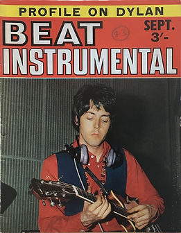 jimi hendrix magazine/beat instrumental september 1968