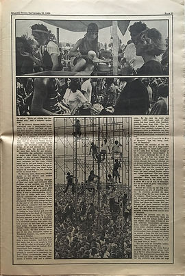 jimi hendrix newspaper 1969 / part 7 rolling stone sept.20 1969