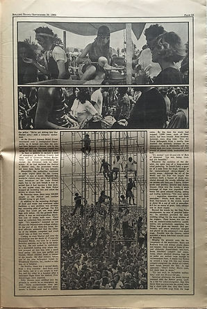 jimi hendrix newspaper 1969 / part 7 rolling stone sept.20 1969