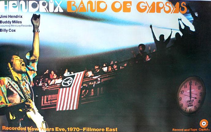jimi hendrix memorabilia 1970/ poster 1970