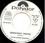 jimi hendrix collector/singles vinyls/crosstown traffic promo juke box italy 1968 polydor