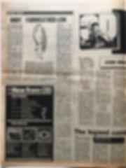 jimi hendrix newspaper 1969/melody maker march 1 1969