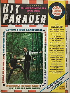 jimi hendrix magazine 1968 hit parader november 1968