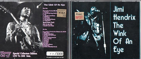 jimi hendrix bootlegs cd album/the wink of an eye