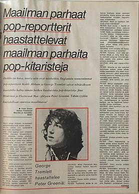 jimi hendrix magazine 1969/suosikki august 1969/finland