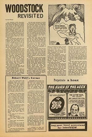 jimi hendrix newspapers 1969/other scenes dec. 1, 1969