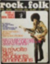 jimi hendrix magazine/rock & folk june/july 1968