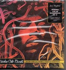 jimi hendrix bootleg cd box/hendrix live in scandidavia/voodoo chile records