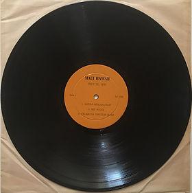 jimi hendrix bootlegs vinyls 1970 / lp 1003 :  hendrix maui / side 1