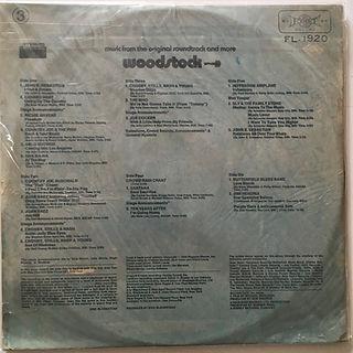 jimi hendrix vinyls album/woodstock 3albums 1972 taiwan