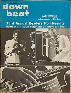 jimi hendrix magazine 1968/down beat december 1968