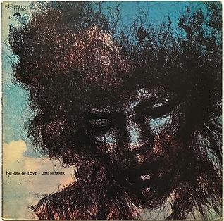 cry of love vinyl album lp/jimi hendrix collector 1971