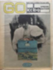 jimi hendrix newspaper/go july 12 1968