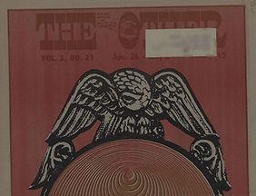 jimi hendrix newspaper/the east village other 26/4/68